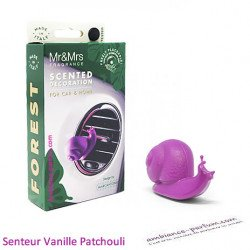 Mr & Mrs Snail | Purple fragrance Vanilla & Patchouli