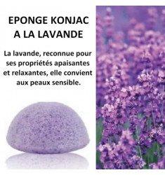 Eponges Konjac à la Lavande