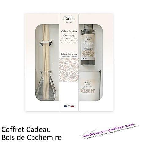 Coffret parfum GALEO - Bois de Cachemire