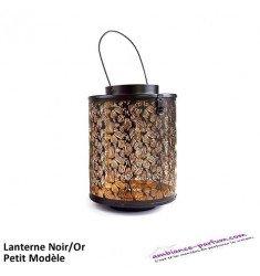 Petite Lanterne Abu Dhabi Noir/Or