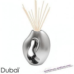 Diffuseur Floratier Dubaï - Argent chrome