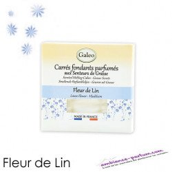 Carrés fondants parfumés - Fleur de Lin