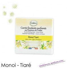 Carrés fondants parfumés - Monoi Tiaré