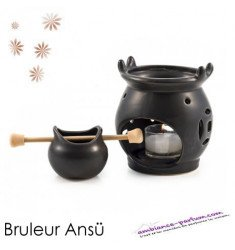 Brûle-Parfum Ansü Noir