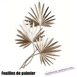 """Décoration murale """"Palmleaves"""" dorée"""