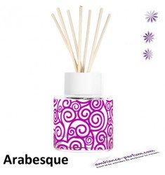 Diffuseur GOA Arabesque Rose & Blanc