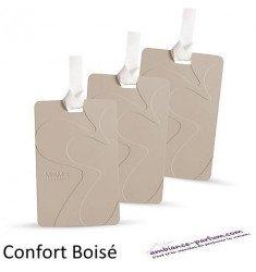 Lot de 3 Cartes Parfumées - Confort Boisé Epicé