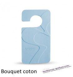 Carte Parfumée avec crochet - Bouquet de Coton