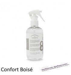 Parfum Spray pour Textiles - Confort Boisé Epicé