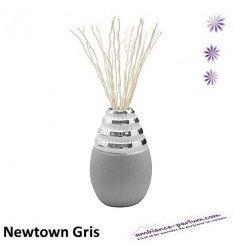 Diffuseur Floratier Newtown - Gris / Chrome