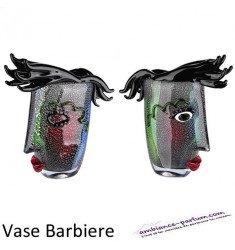 "Vase en Verre design ""Barbiere"""