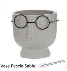 """Céramique Pot plantes """"Faccia"""" Sable"""