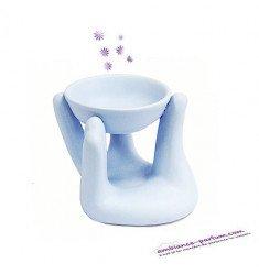 Brûle parfum Main Bleu Poudré