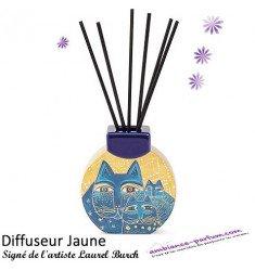 Diffuseur Jaune - Laurel Burch