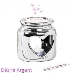 Brûle parfum Désire Argent