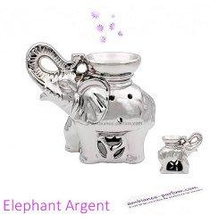 Brûle parfum Elephant Argent