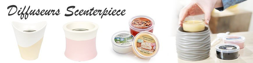 Yankee Candle - Diffuseurs Scenterpiece
